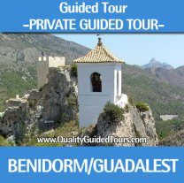Benidorm, 4 hours private guided tour to Guadalest