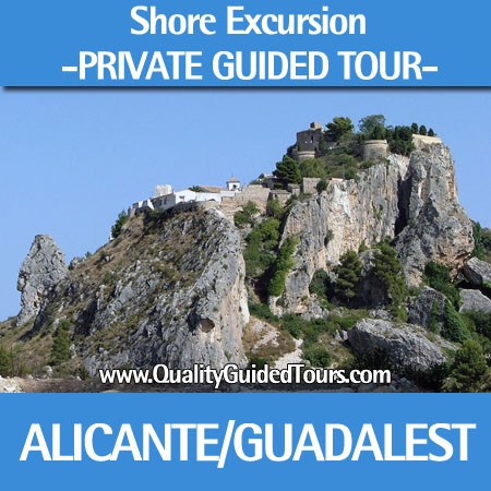 Guadalest 4 hours private shore excursions guided tour