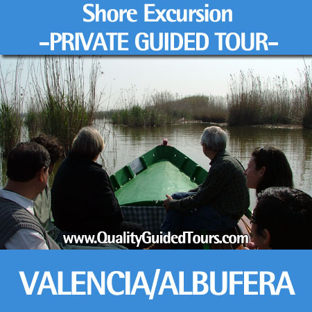 Valencia 4 hours private shore excursions to Albufera