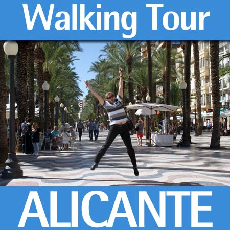 Alicante walking tours