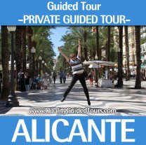 Alicante, 4h private guided tour