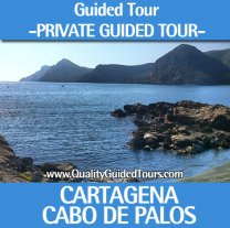 private guided tour cartagena spain cabo de palos manga mar menor portman