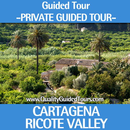 "Cartagena 6 hours private guided tour to ""Ricote Valley"""