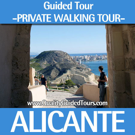 Alicante, 3h private walking tour