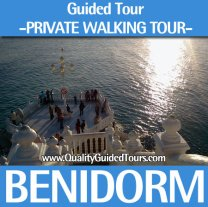 Benidorm, 2 hours private walking tour