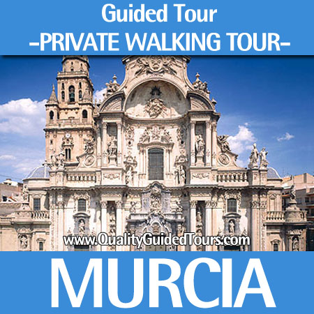 Murcia 3 hours private walking tour