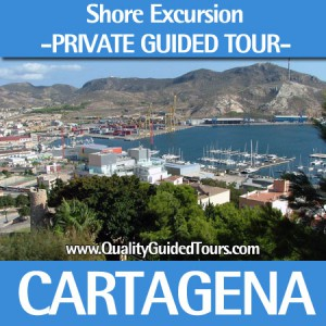 Cartagena Spain 4 hours private shore excursions, Cartagena shared walking tour (3h)