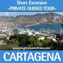 shore excursion private guided tour cartagena cabo de palos manga mar menor