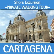 Cartagena 3 hours private shore excursions walking tour