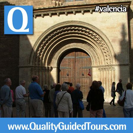 Romanesque façade (Almoina), Valencia Cathedral