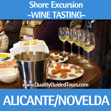 Alicante Shore Excursion Wine Tasting Novelda