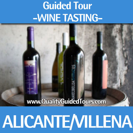Villena (Castle + winery), 5h guided tour