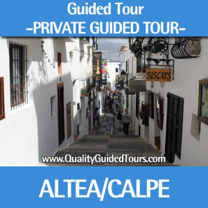 GUIDED TOUR ALTEA CALPE BENIDORM