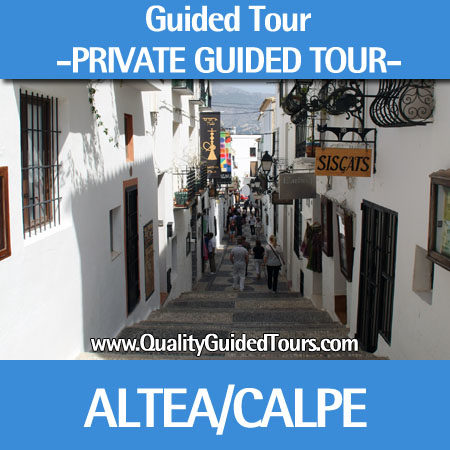 Altea and Calpe, 4h guided tour