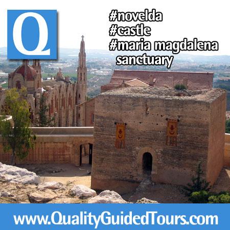 Novelda Castillo de la Mola Santuario de Santa Maria Magdalena (1), Novelda city