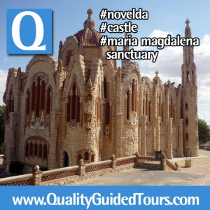 Novelda Castillo de la Mola Santuario de Santa Maria Magdalena (2), Novelda 4h private shore excursions