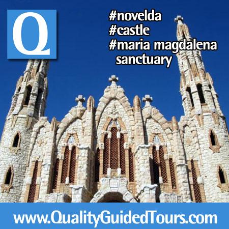 Novelda Castillo de la Mola Santuario de Santa Maria Magdalena (4)