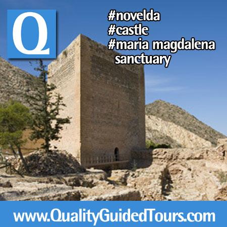 Novelda Castillo de la Mola Santuario de Santa Maria Magdalena