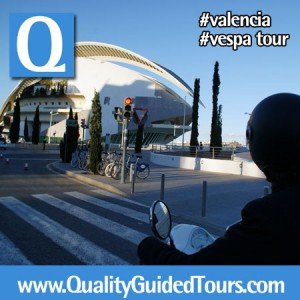 Valencia Shore Excursion, Valencia Vespa Rent