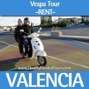 Rent Vespa Tour Valencia