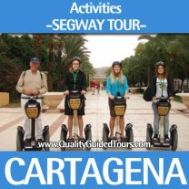 2h Segway tour in Cartagena