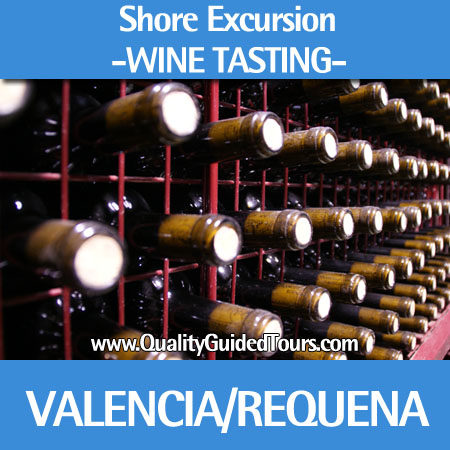 Wine history tour in Requena 4h private shore excursions