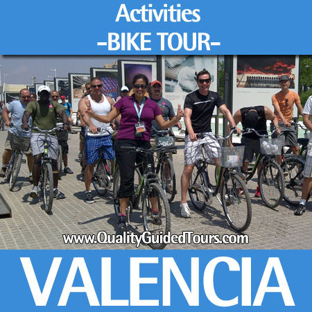 Valencia bike tour (daily)
