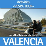 Vespa 5h guided tour in Valencia