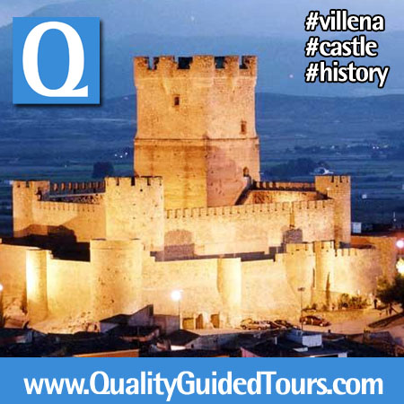 Villena Castle History and flavours