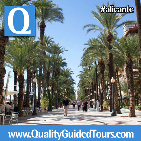 Spanis boulevard-Explanada de España Alicante