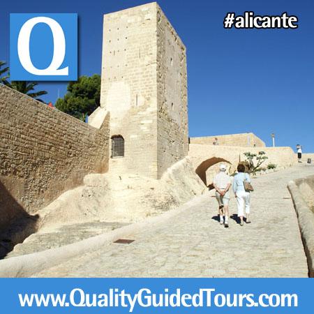 Santa Barbara Castle, Alicante, ALicante shared walking tour (3h)