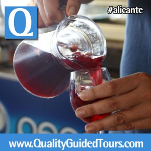 Sangria tasting, Alicante