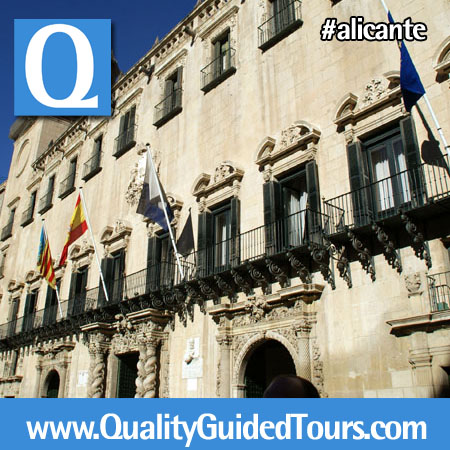 Alicante Town Hall, alicante private shore excursions, alicante private tour guides