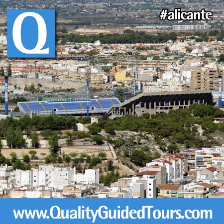 Football stadium, Alicante