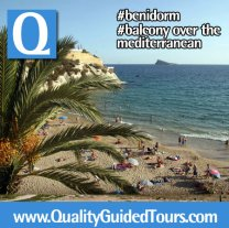Benidorm shared walking tour