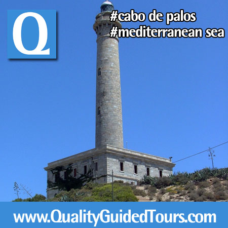 Lighthouse of Cabo de Palos Cartagena Spain