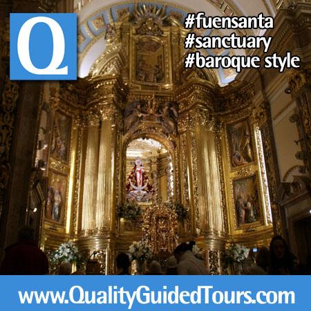fuensanta murcia baroque sanctuary