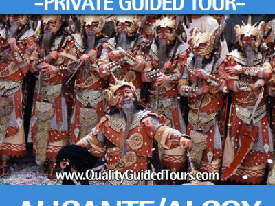 Alcoy Moors and Christians, 4h private guided tour, alcoy guided tour