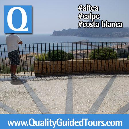 private guided tour alte calpe costa blanca