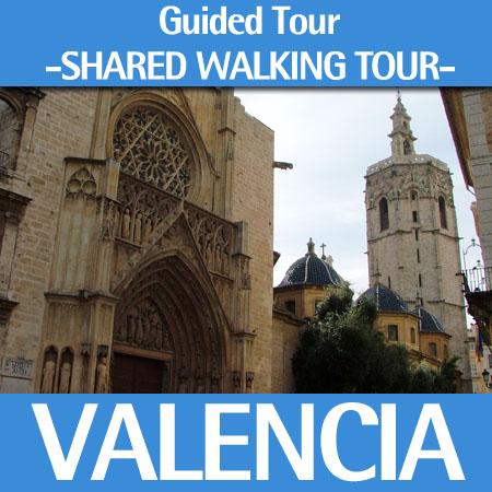 Valencia city center walking tour