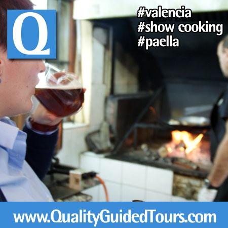 valencia paella cooking show (2)