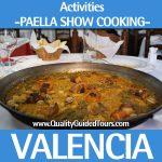 Paella show cooking valencia