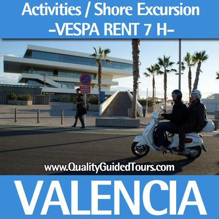 Valencia Vespa rent