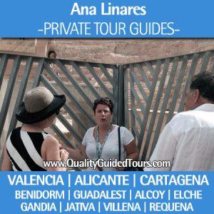 private tour guide valencia, alicante, cartagena, benidorm, guadalest, alcoy, elche, private tour guide in Alicante