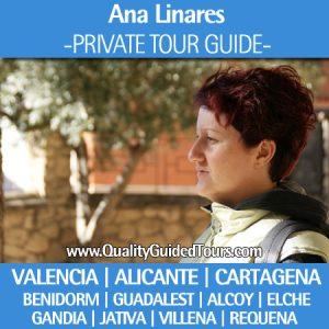 private tour guide valencia, alicante, cartagena, benidorm, guadalest, alcoy, elche, Ausflüge für Kreuzfahrten in Alicante