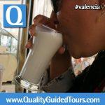 Horchata tasting Valencia