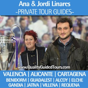 Private Tour Guides Spain, Cartagena, Valencia, Benidorm, Guadalest, Alicante, Alcoy, Elche