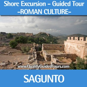 Sagunto guided tours shore excursions, Sagunto Roman city tour, private tour guide in Valencia