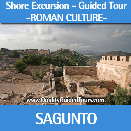 Sagunto guided tours shore excursions, Sagunto Roman city tour