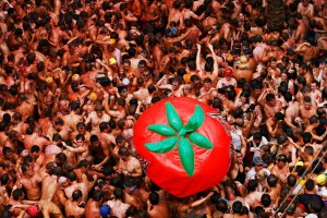 The Official Tomatina de Buñol bus